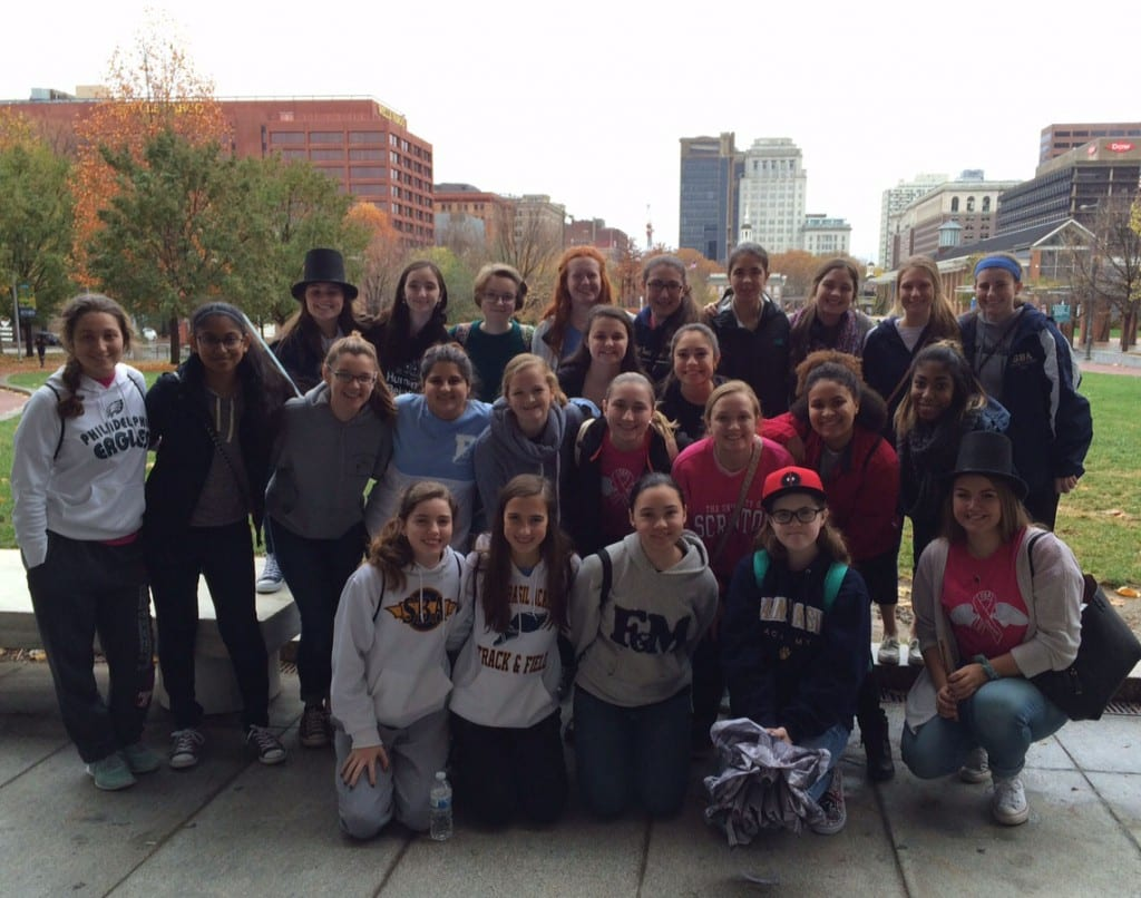 SBA History Club visits Constitution Center