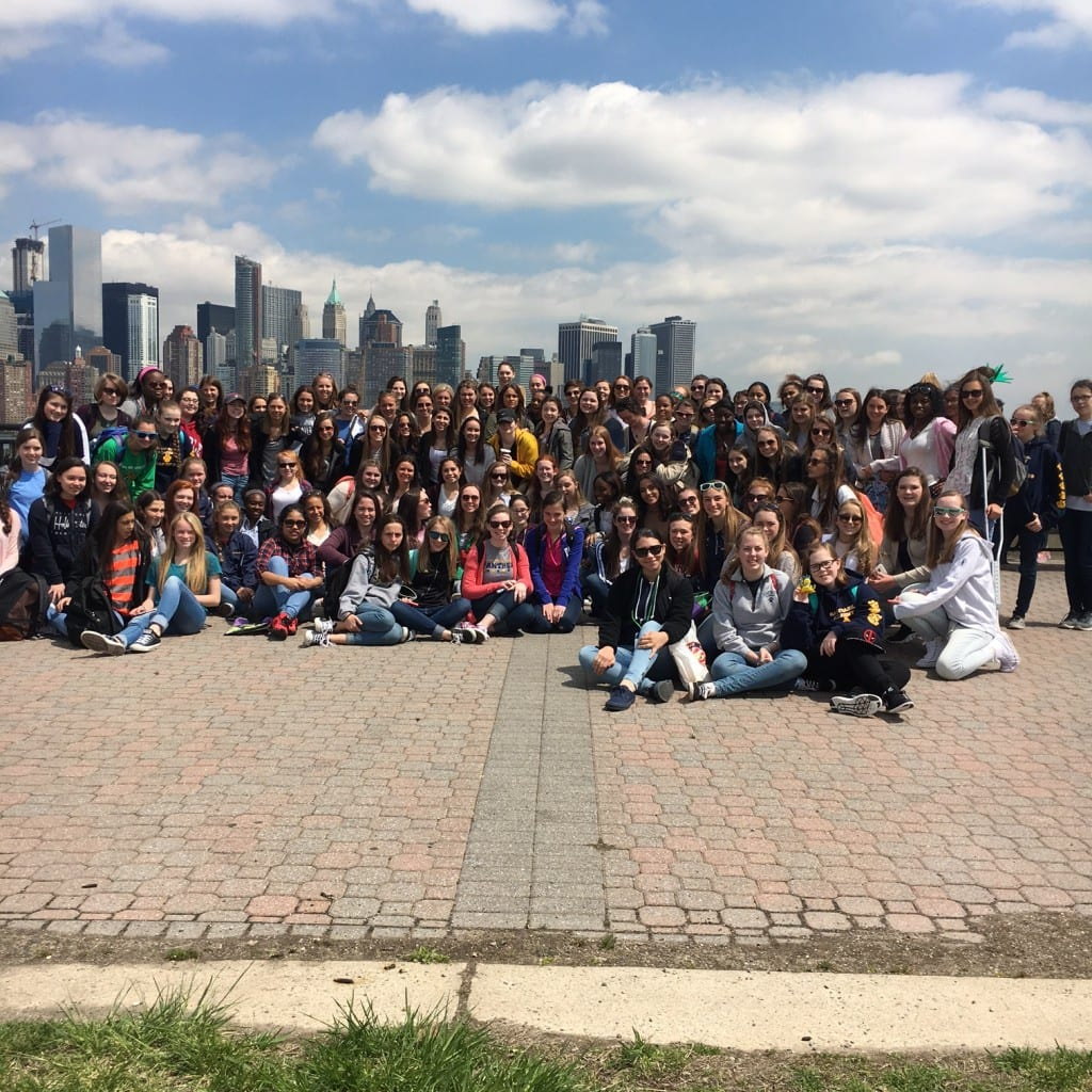 Freshmen and Juniors Enjoy a day in NYC