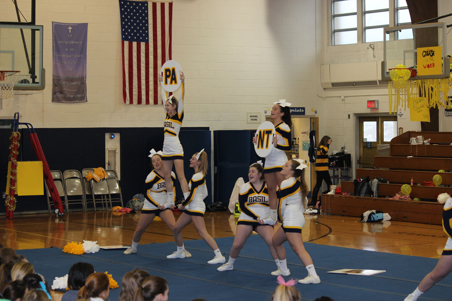 saint basil cheerleading