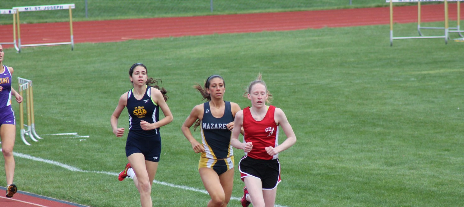 track and field running