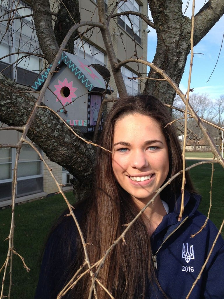 Madison Comey, Horticulture student
