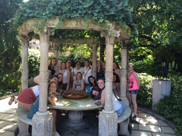 SBA Students return from Summer Trip to Italy