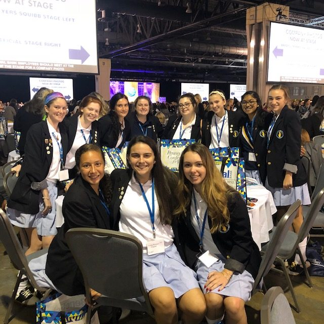Leadership Seminar Students attend PA Conference for Women