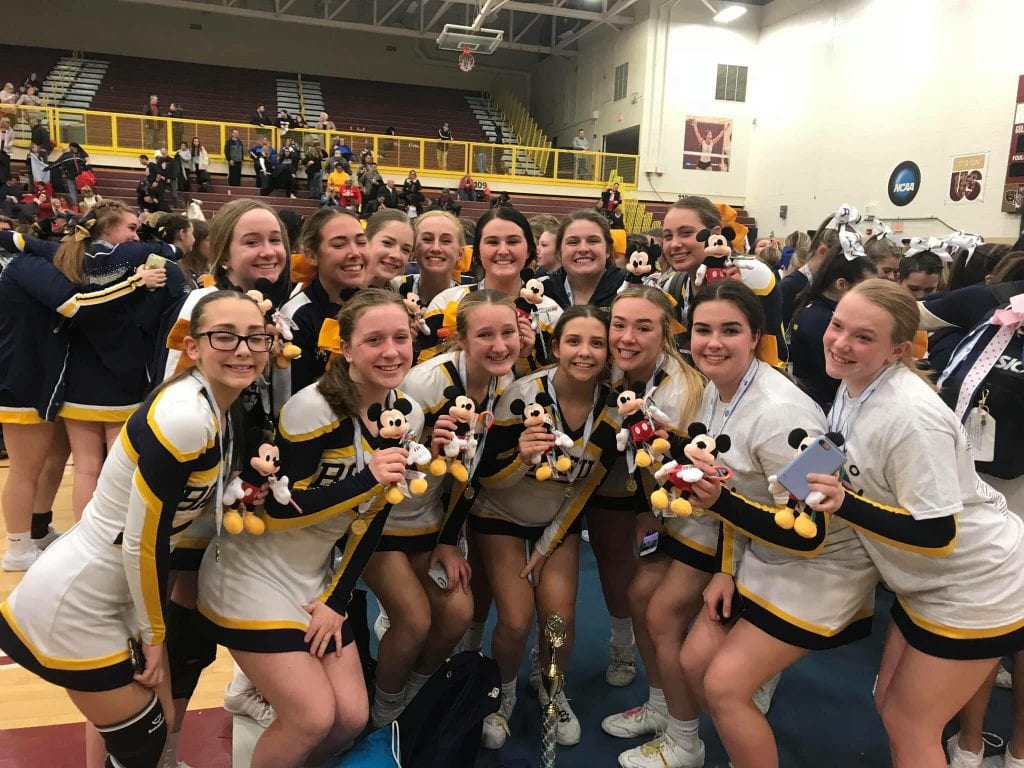 Basil Cheerleaders are headed to Nationals!