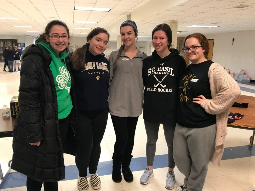 Basils Students Serving Others